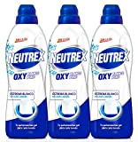 [Pack de 3] Neutrex Quitamanchas Gel Oxy Blanco Puro Botella 800 ml