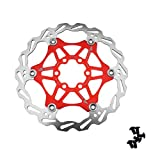 Frein à Disque vélo 160mm rouge freinage bicyclette MTB 6 Boulons SHIMANO AVID