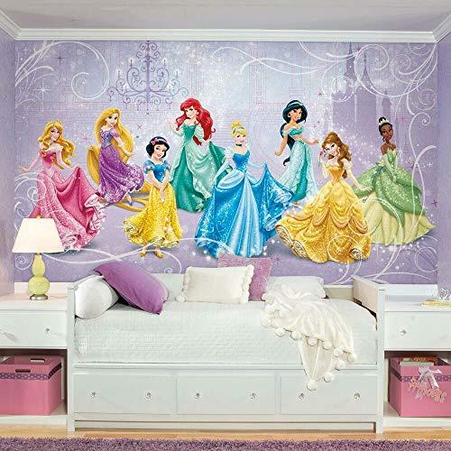 RoomMates Disney Princess Royal Debut Removable Wall Mural - 10.5 feet X 6 feet