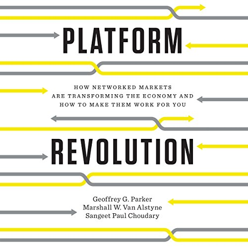 Platform Revolution audiobook cover art