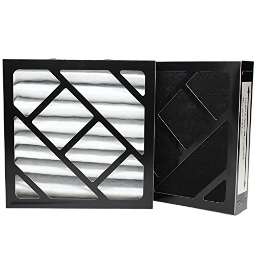 Upstart Battery Paquete de 2 filtros de repuesto para humidificador Bionaire W25, compatible con filtro de aire Bionaire 911D