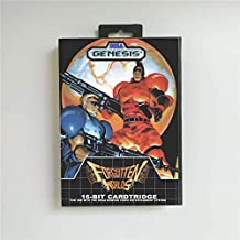 Game Card Forgotten Worlds - USA Cover With Retail Box 16 Bit MD Game Card for Sega Megadrive Genesis Video Game Console