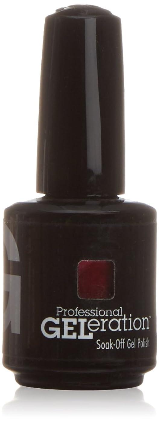 植木控える一次ジェレレーションカラー GELERATION COLOURS 236 P レッドバインズ 15ml UV/LED対応 ソークオフジェル