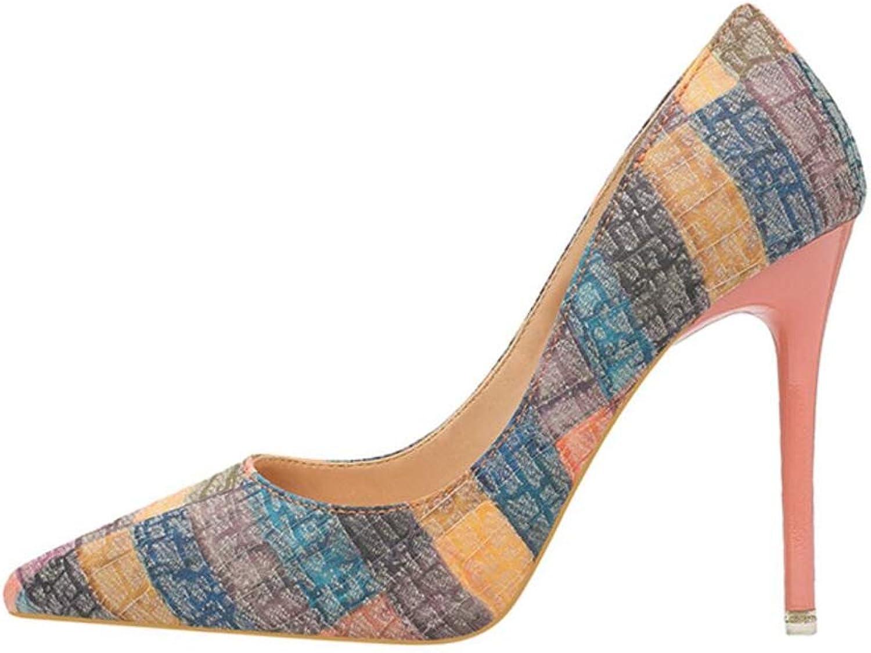 Meimeioo Women's Classic Pointed Toe High Heels Slip On Stiletto Pumps Dress Basic shoes