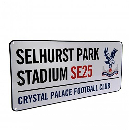 Crystal Palace FC Official Football Gift Street Sign - A Great Christmas/Birthday Gift Idea For Men And Boys