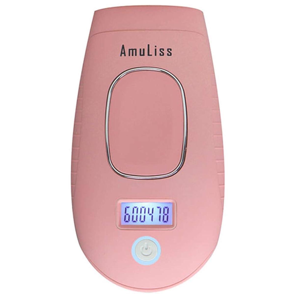 徹底ジェットフィドルパルス光脱毛器600000はIPL毛の取り外しの安全を点滅させます肌を傷つけることはありません、デバイスの女性の男性、液晶ディスプレイ付き永久無痛脱毛システム、フェイスボディ脇の下ビキニ,Pink