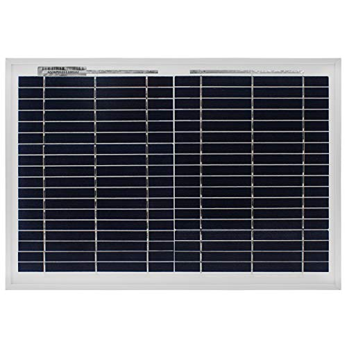 Mighty Max Battery 10 Watt Polycrystalline Solar Panel Charger for Deep Cycle Batteries