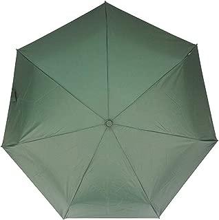 XLSM Sun Protection UV Umbrellas Rain and Rain Umbrellas Ultralight Portable Folding Umbrellas Men, Ladies Solid Color Umbrellas Umbrella (Color : Green)