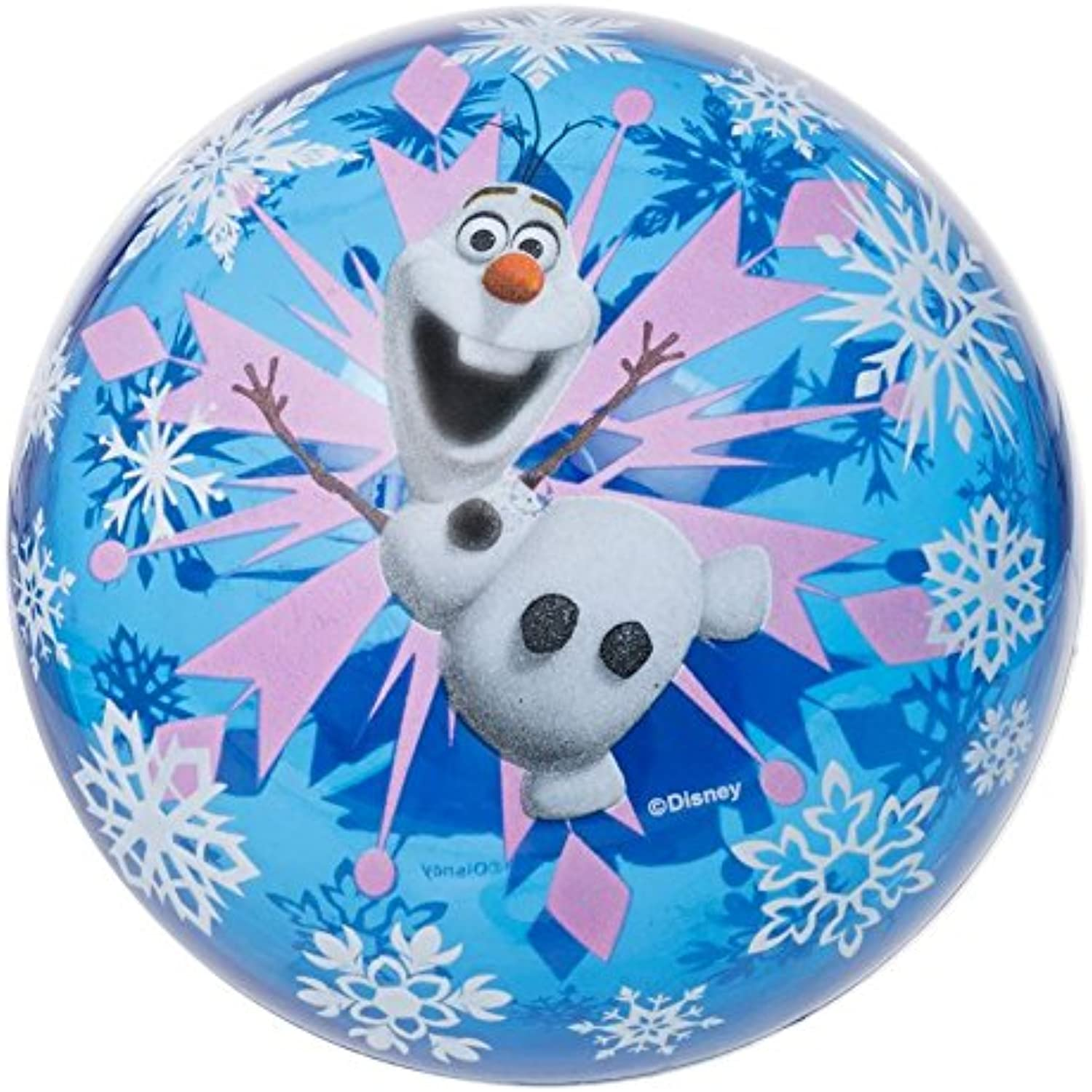 Disney Frozen Light Up 11cm Ball - Pack of 2