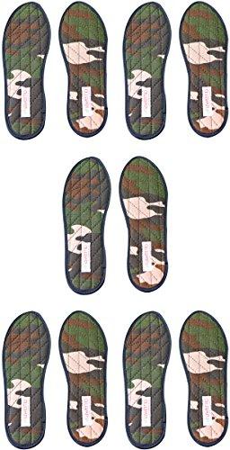 Nawemo Zimtsohlen Camouflage (5er Pack), Größe 48