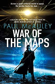 War of the Maps by Paul McAuley science fiction and fantasy book and audiobook reviews