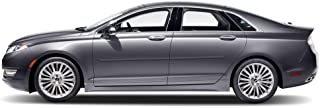 Dawn Enterprises FE-FUS13 Finished End Body Side Molding Compatible with Ford Fusion, Lincoln MKZ - Tectonic Silver Metallic (HI)