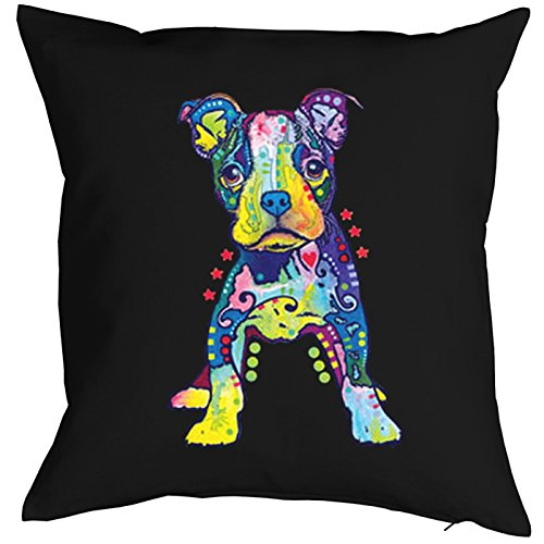 Little Dog On My Own Feet Pillow, oreiller, almohada, Cuscino Pop Art Style