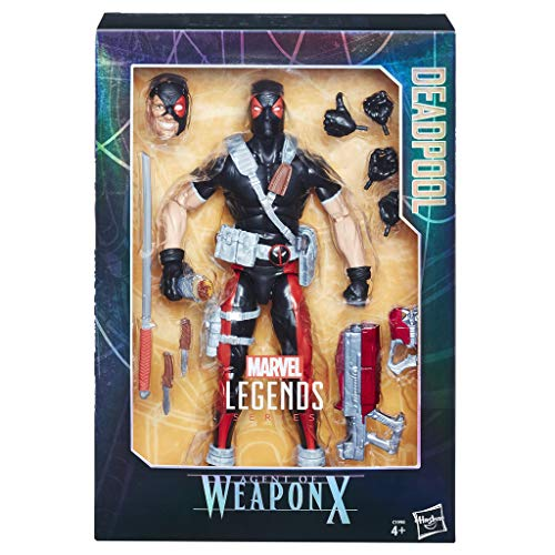 Marvel Classic - Legends Deadpool Accesorios 30 cm (Hasbro C