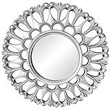 Fenteer Espejos para decoración de Paredes Espejos Redondos pequeños Espejos Decorativos Accesorios para el hogar para...