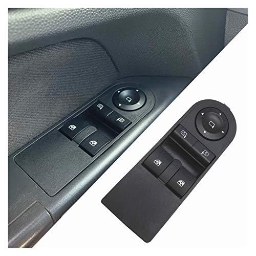 Regulador de la Ventana para Opel Astra H 2005-2010 Botón de Interruptor de Control de Ventana de Zafira B 2005-2015 13228706 13183679 13228879 Suitable for Car