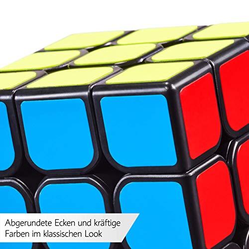3×3 Zauberwürfel – Original Cubixs Speedcube – Typ Los Angeles – mit optimierten Dreheigenschaften für Speed-Cubing - 8