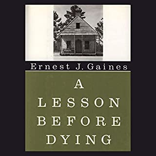 A Lesson Before Dying audiobook cover art