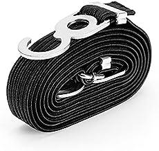 Bungee Cord voor fiets motorfiets rek met 3 cm hoge sterkte metalen haak + hoge sterkte nylon vlecht, hoge stretch latex ...