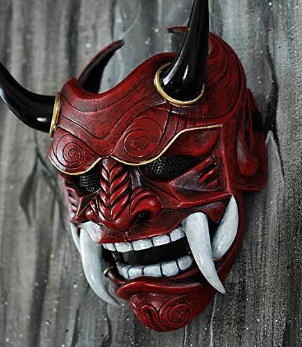 Japanisch Samurai Krieger Assassin Maske Voll Tragbar Airsoft Fertig Maskenkostüm