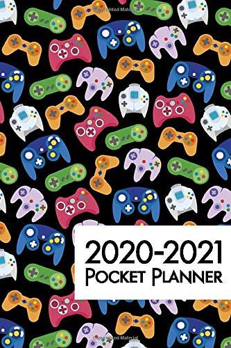 2020-2021 Pocket Planner: Video Game Controller 24 Month Monthly Pocket Calendar