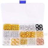 Hair Cuffs Metal Hair Braiding Beads with...