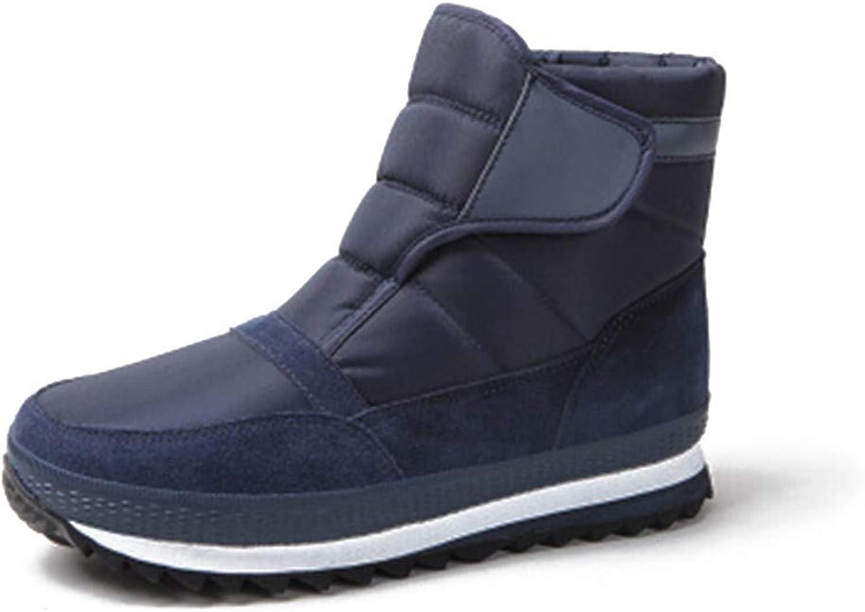 DINGJIE Snow Boots Men, Winter Outdoor Warm Non-slip Casual Cotton shoes