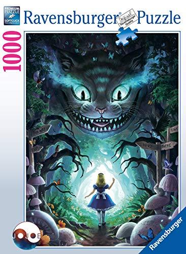 Ravensburger Puzzle, Puzzle 1000 Pezzi, Alice nel Paese delle Meraviglie, Puzzle per Adulti, Puzzle Fantasy, Puzzle Ravensburger - Stampa di Alta Qualità