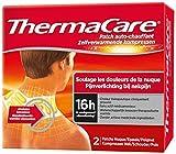 Thermacare - Protector de Cuello y Hombro para Alivio del Dolor - 1 Caja con 2 Parches