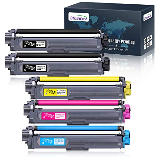 OfficeWorld Cartuccia Toner TN-241 TN-245 Sostituzione per Brother TN241 TN245 per Brother HL-3140CW MFC-9140CDN DCP-9020CDW MFC-9340CDW HL-3150CDW HL