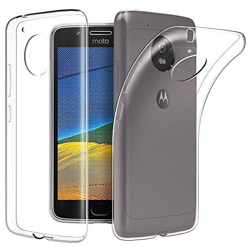 KP TECHNOLOGY Motorola Moto E4 / Motorola Moto E 4ª Generación Funda Transparente Ultra Delgada Silicona Gel Cover para Moto E4 2017 (Motorola Moto E4, Transparente)