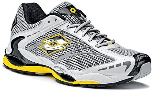 Lotto - Zapatillas de running para hombre Blanco Blanc/jaune 40