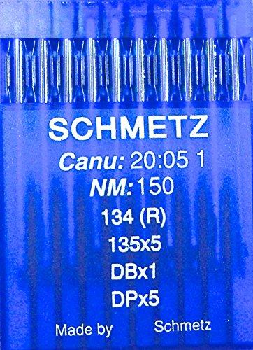 Schmetz 10 ronde bout naaimachine naalden systeem 134 (R) industrie St. 150
