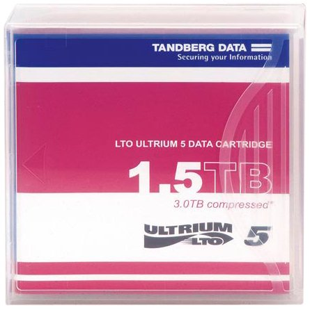 Tandberg LTO5 Cartridge Media 1,5/3TB