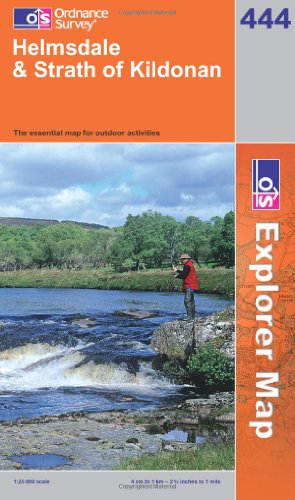 OS Explorer map 444 : Helmsdale & Strath of Kildonan