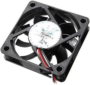 Heavensense 60mm X 60mm X 15mm 12V 4 Pin Internal Computer CPU Cooling Fan Desktop Cooler Fan