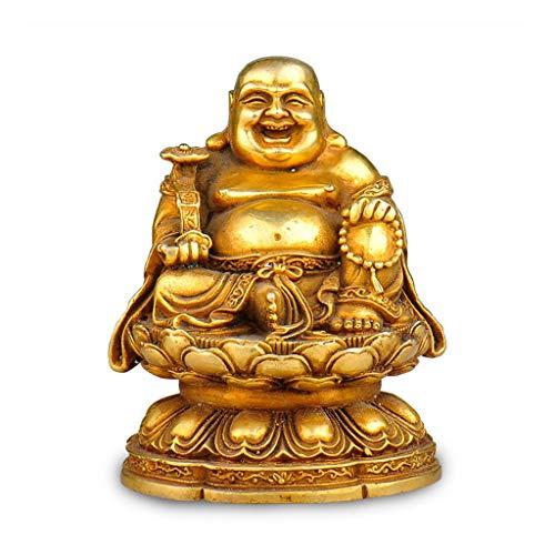 Pur cuivre Sit Sit Mangaya Bouddha Ornements Bouddha Lingots Riche Chanceux Home Feng Shui Décoration Ameublement
