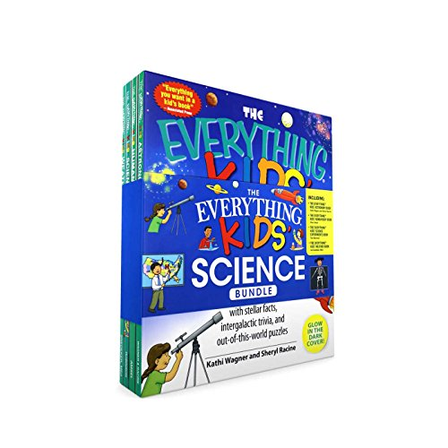 The Everything Kids' Science Bundle: The Everything® Kids' Astronomy Book; The Everything® Kids' Human Body Book; The Everything® Kids' Science Experiments Book; The Everything® Kids' Weather Book