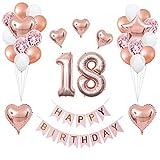 Happy Birthday Banner Balloon Set Globos de fiesta Decoraciones Suministros de fiesta de cumpleaños