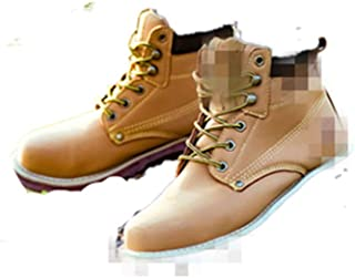 SHANLEE Men's Casual Hiking Shoes Breathable Protective Shoes wear Safety Shoes
