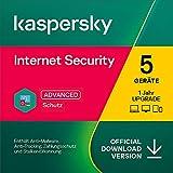 Kaspersky Internet Security 2021 Upgrade | 5 Geräte | 1 Jahr | Windows/Mac/Android |...