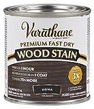 Varathane 262029 Premium Fast Dry Wood Stain, 1/2 Pint, Kona