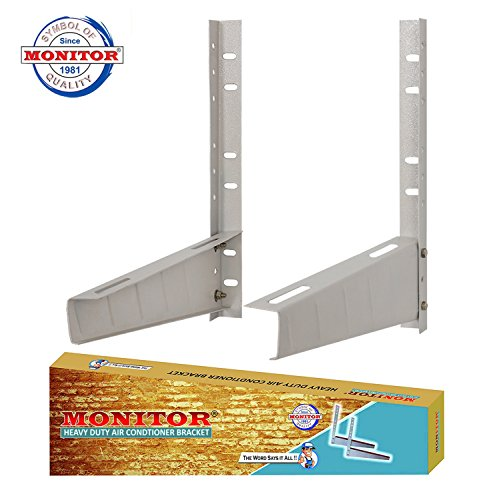 Monitor Split AC Stand, White