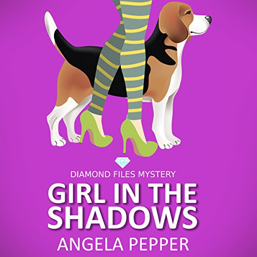 Girl in the Shadows audiobook cover art
