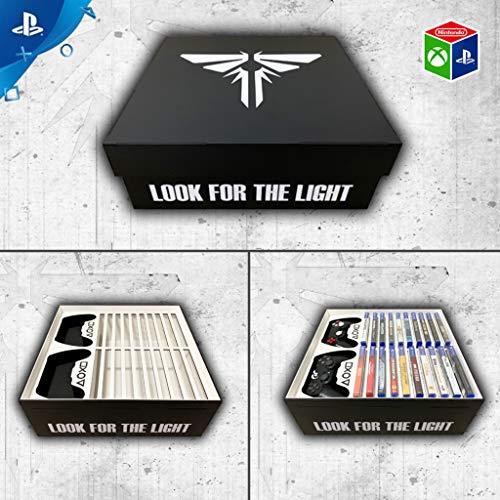 Porta jogos e controles PS4 The Last of Us