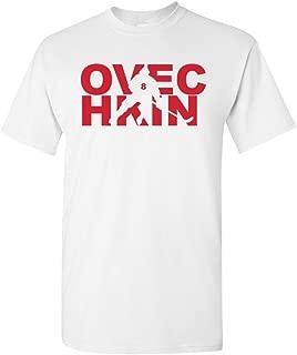 Ovechkin Fan Wear Ice Hockey Sports Adult T-Shirt Tee