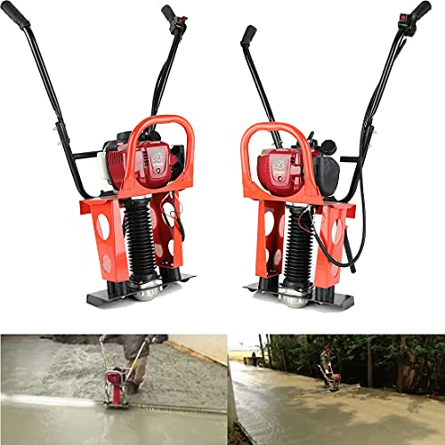 DNYSYSJ Gas Concrete Wet Screed Power Screed 4 Stroke 37.7CC Commercial Leveling Vibration Concrete Wet Screed Cement Road Construction