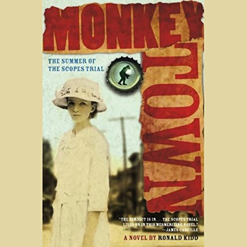 Monkey Town audiobook cover art