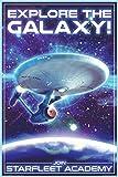 Star Trek Explore The Galaxy Cool Wall Decor Art Print Poster 24x36