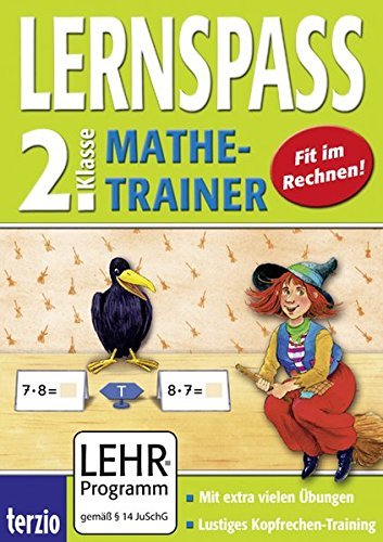 LERNSPASS - Mathe-Trainer 2. Klasse (PC+MAC)